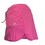 Шорты для тенниса (теннисные шорты) - юбка шорты для тенниса.  Юбка спортивная бирюзовая. Мод. 4051., фото 8