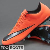 Футбольные бутсы Nike Mercurial Vapor X SG Pro Mango