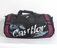 """Практична і стильна  спортивна   сумка """"Cantlor"""" бордо"""