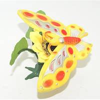 Бабочка с подсолнухом