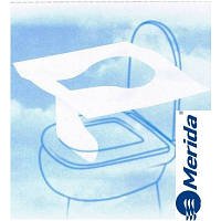 Накладки на крышку унитаза одноразовые бумажные 100 шт. Merida GP11