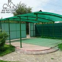 Прозрачный шифер Зеленый  ПВХ ONDEX (Франция) 1.095 х 2,5, Харьков