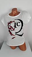 Женская футболка  Клякса
