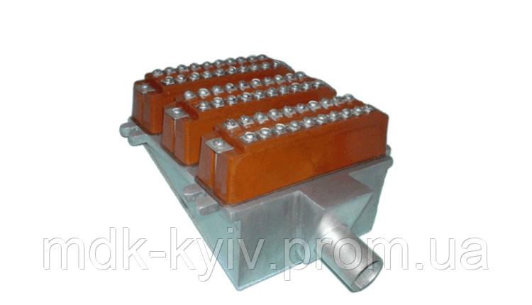 БКТ-30х2 - Бокс кабельный телефонный 30-парный для телефонных распределительных шкафов