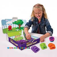 Песок для детского творчества Wacky-tivities Kinetic Sand DOGGY фиолетовый и зеленый 71415Dg