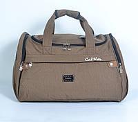 """Практична і стильна  дорожна  сумка """"Cantlor"""" бежева"""