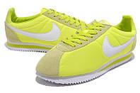 Мужские кроссовки Nike Cortez Classic Nylon Light Green