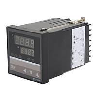 Электронный термостат регулятор температуры 0 - 400С базовое температурное реле 220В REX-C700