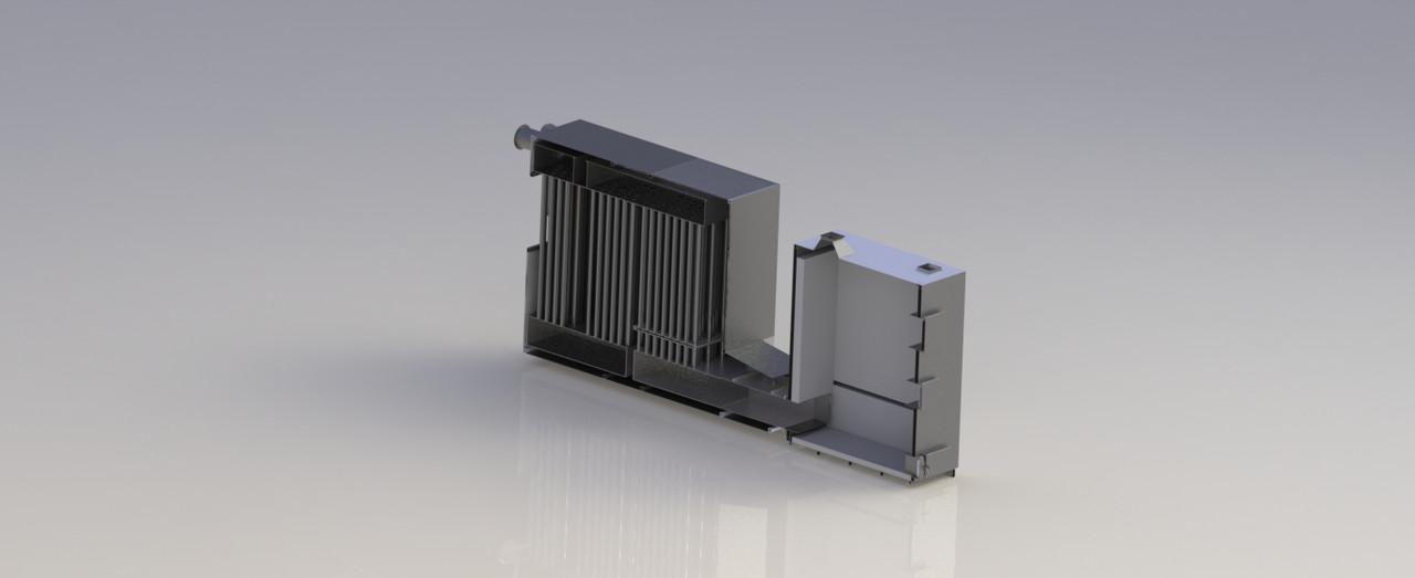 Теплогенератор на твердом топливе