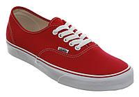 Женские кеды Vans Red