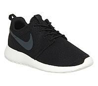 Женские кроссовки Nike Roshe Run Black/Ash Grey