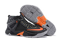 Мужские кроссовки Nike Lebron 13 EP Black/Orange