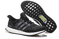 Мужские кроссовки Adidas Ultra Boost Core Black s77417 Реплика