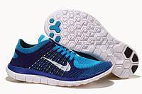 Мужские кроссовки Nike Free 4.0 Flyknit Neo Turquoise , фото 1