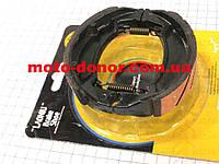 Колодки тормозные передние (пружины прямые) к-кт  для мопеда DELTA