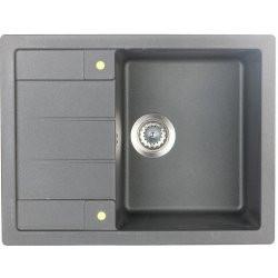 Прямоугольная кухонная мойка Adamant ANILA 65х50х20