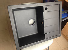 Прямоугольная кухонная мойка Adamant ANILA 65х50х20, фото 3