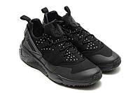 Мужские кроссовки Nike Air Huarache Utility All Black, фото 1