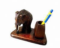 Оригинальный подарок подставка для ручек и карандашей из дерева