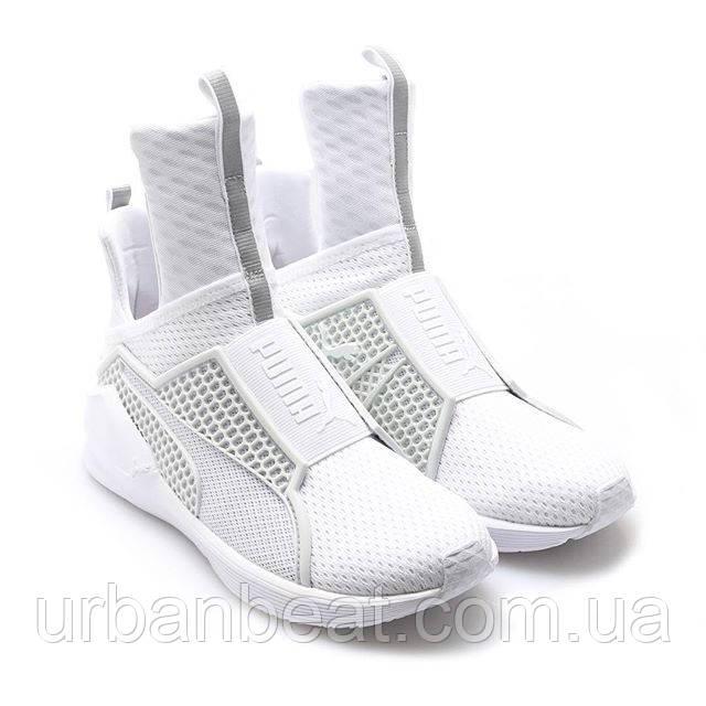 e007a4fb3388 Женские кроссовки Puma Rihanna Fenty Trainer White