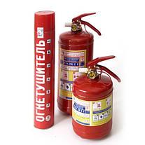 Описание и характеристики порошковых огнетушителей