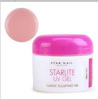 Star Nail УФ гель моделирующий, 15 г – розовый
