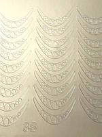 Металлизированные наклейки для ногтей S3