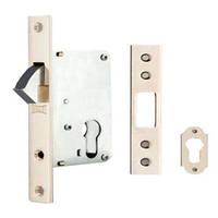 KALE Замок - краб для раздвижных дверей В=40мм СР