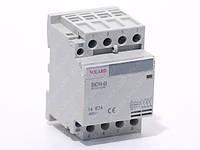 Контактор электромагнитный модульный SNCH8-40/40  4P 40A SOLARD