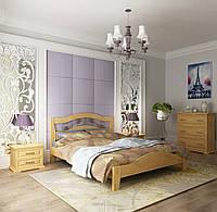 Двуспальная кровать Лилия