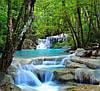 """Фотообои """"Лесной водопад"""""""