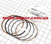 Кольца поршневые к-кт 100сс 50мм +1,00 для мопеда DELTA