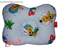 Ортопедическая подушка детская (особая эргономичная форма) Bimbo (арт. P501) 250 x 340 x 60 мм