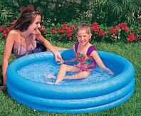 Надувной детский бассейн Intex 58426, круглый, винил 0,32 мм, 147*33 см