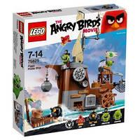LEGO Angry Birds  ПИРАТСКИЙ КОРАБЛЬ СВИНОК