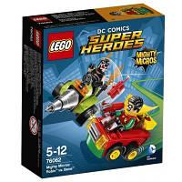 Конструктор LEGO Super Heroes Робин против Бэйна (76062)