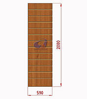 Экспопанель (экономпанель) Н=2000мм, W=590мм, орех, фото 1