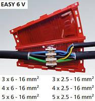 Ответвительная и соединительная гелевая муфта EASY 6V  (Для кабелей сечением 2,5 - 16 кв.мм), фото 1