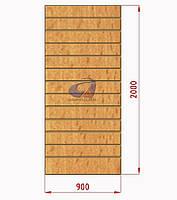 Экспопанель (экономпанель) Н=2000мм, W=900мм, бук