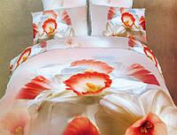 Комплект постельного белья La scala сатин 3d ABC-311