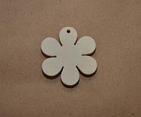 Декоративный цветок, 3 см, цвет белый