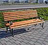 Садово парковая скамья Виктория 2м
