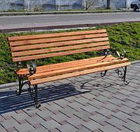 Садово парковая скамья Виктория 2м, фото 1