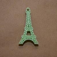 Эйфелева башня, 4 см*2 см, цвет мятный