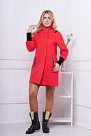Женское пальто 519 (коралл)