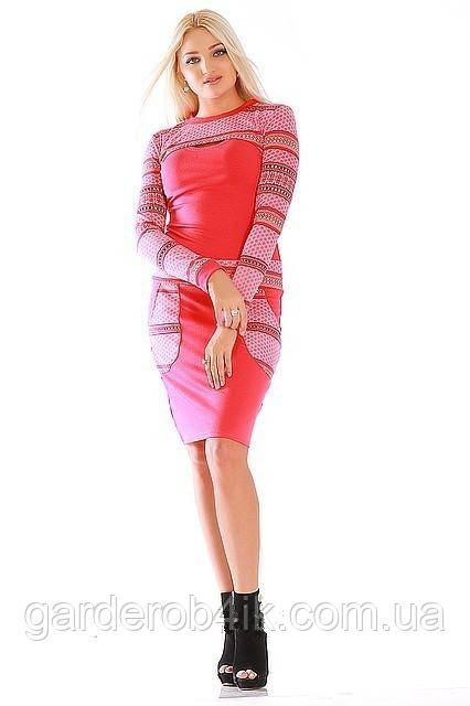 Красивое женское платье с болеро