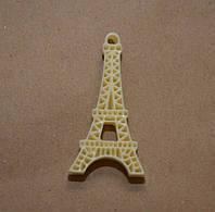 Эйфелева башня, 4 см*2 см, цвет желтый