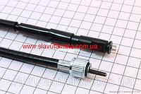 Трос спидометра (квадрат-вилка, гайка-шток тонкий с направл.) 2Т 110см