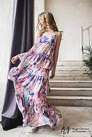Платье в пол TM B&H.Ткань:креп.РазмерXS - M.Длина изделия:145 см.Обхват груди:92см.AA 038