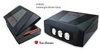 Хьюмидор 918000 для 100 сигар Lamborgini Monte Carlo кедр/шпон, черный/карбон, фото 1